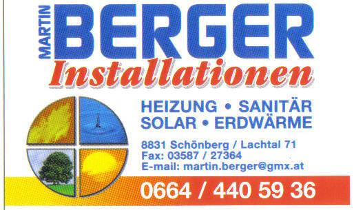 Logo Berger Installationen